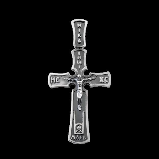 Крестик серебряный Г-50099ч