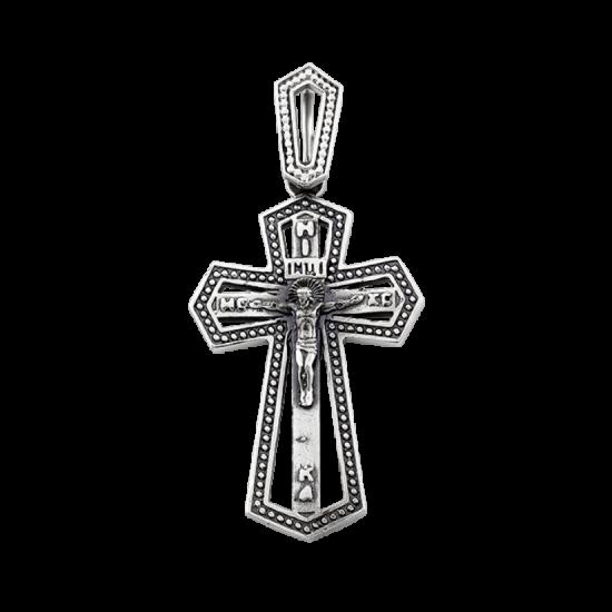 Крестик серебряный Г-50102ч
