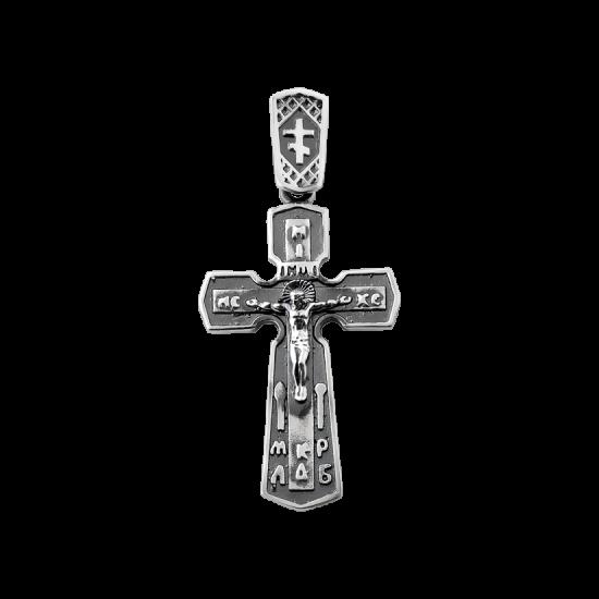 Крестик серебряный Г-50103ч