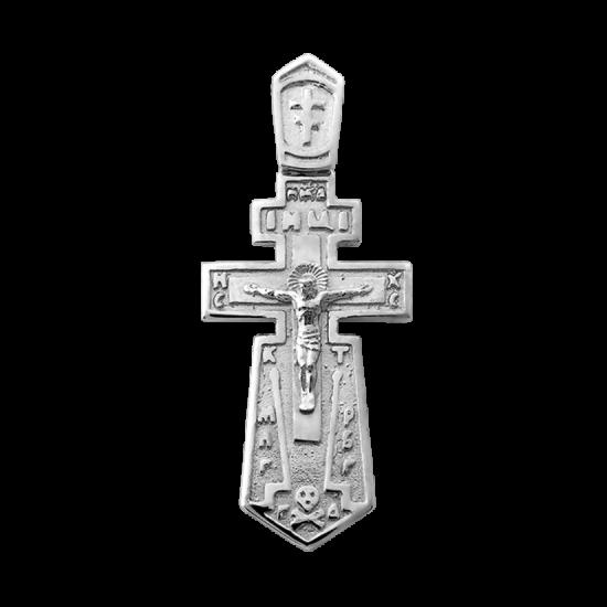 Крестик серебряный Г-50108р