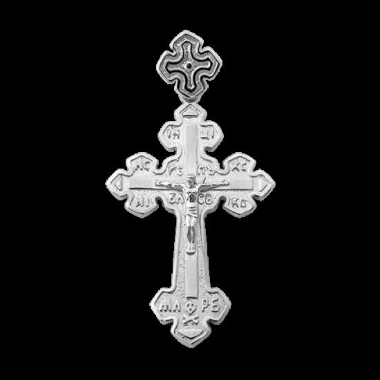 Крестик серебряный Г-50119р
