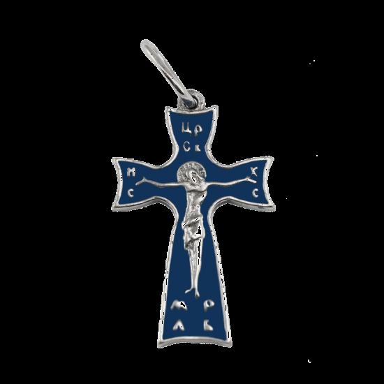 Крестик серебряный Г5063ер