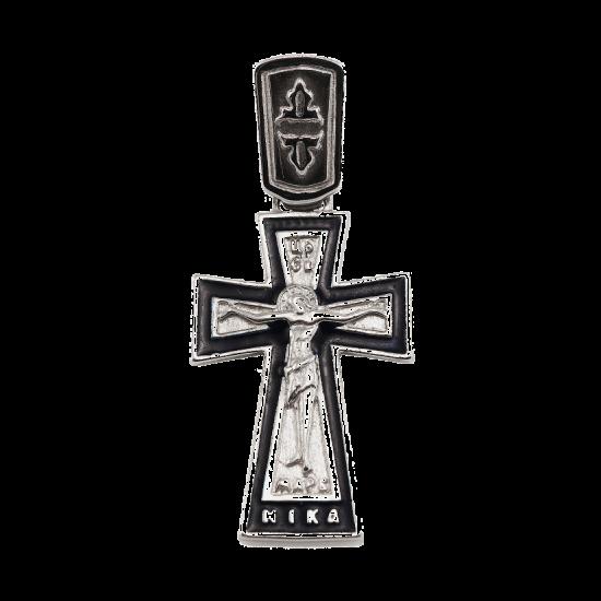 Крестик серебряный Г5073ер
