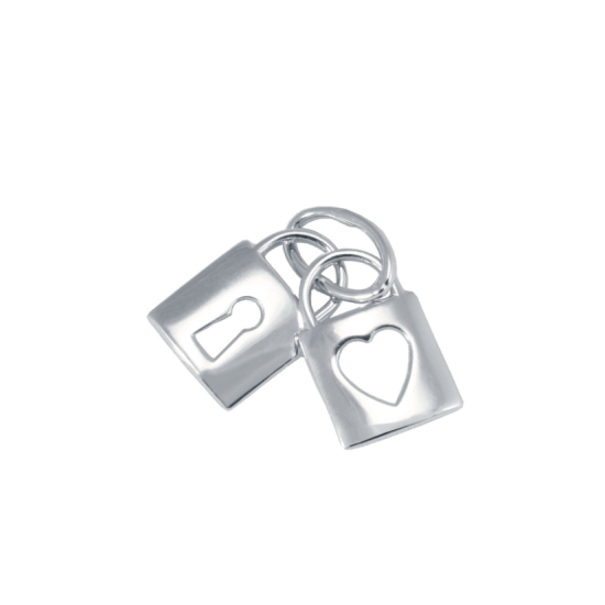 Серебряный кулон Замочки Г-6053р