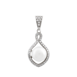 Комплект серебряный Коралл