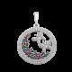 Серебряный кулон ЛК-0160р(фзк)