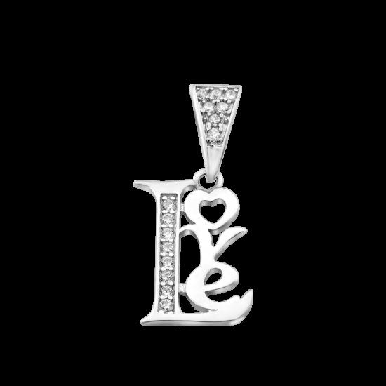 Серебряный кулон Любовь ЛК-0281р