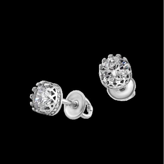 Серебряные сережки ВС-045