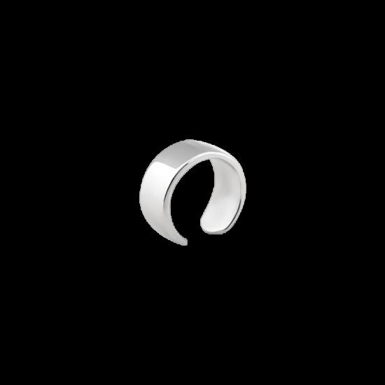 Серьга серебряная каффа на верхнюю часть уха ВС-179р