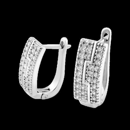 Серебряные серьги ЛК-0036р