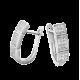Серебряные серьги   ЛК-0037р
