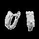 Серебряные серьги  ЛК-0038