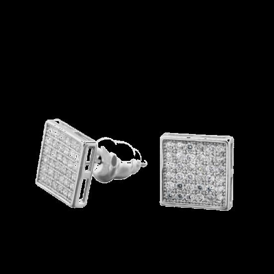 Серебряные серьги ЛК-0086