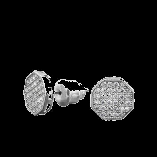 Серебряные серьги  ЛК-0088