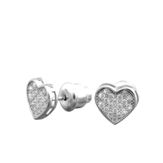 Серебряные серьги  ЛК-0089