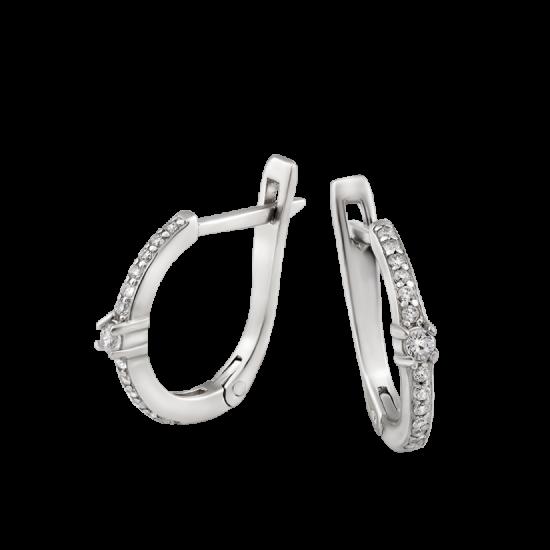 Серебряные серьги ЛК-0105