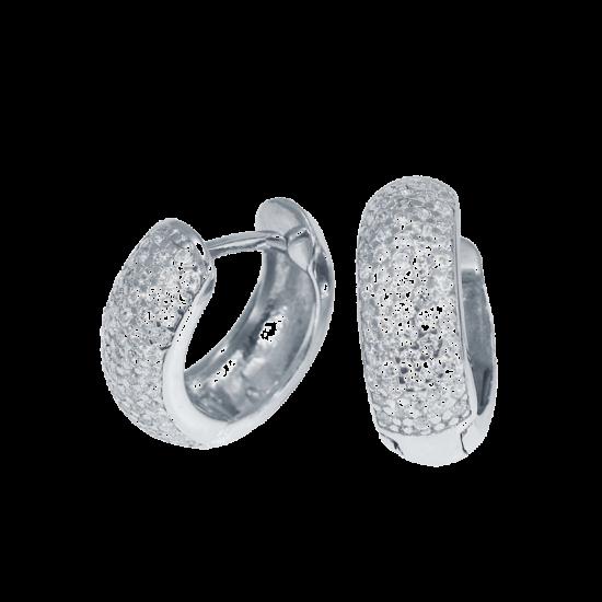 Серебряные серьги  ЛК-0113