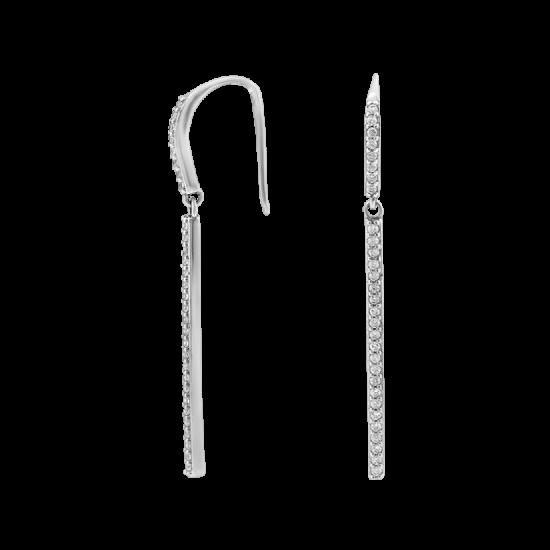 Серебряные серьги  ЛК-0129