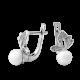 Серебряные серьги ЛК-0142