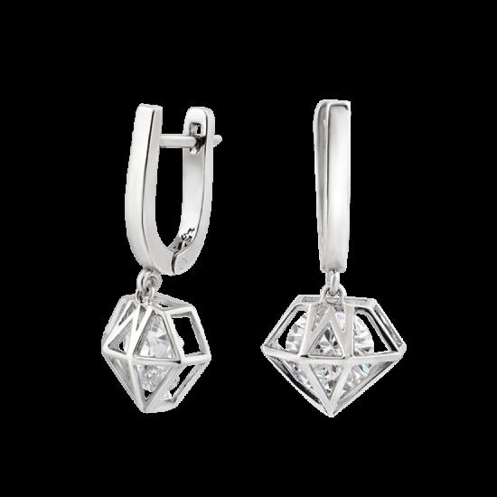 Серебряные серьги ЛК-0145