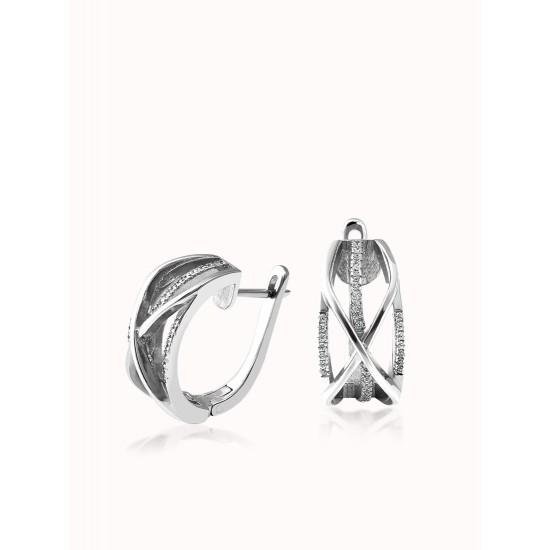 Серебряные серьги ЛК-0148р