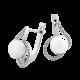 Серебряные серьги  ЛК-0153р