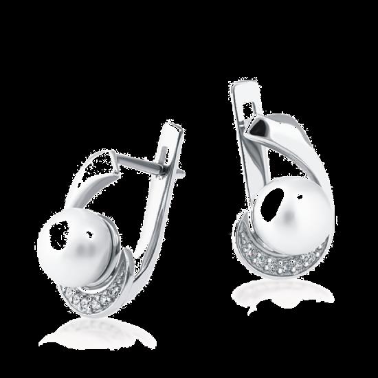 Серебряные серьги ЛК-0156