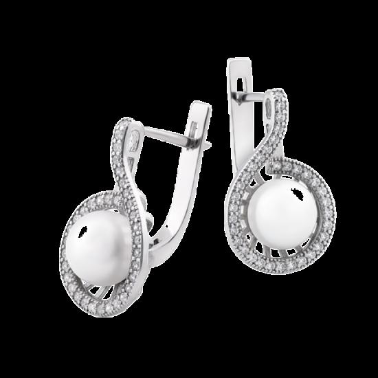 Серебряные серьги ЛК-0159