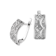 Серебряные серьги Восточный Узор ЛК-0186рС