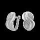 Серебряные серьги  ЛК-0244