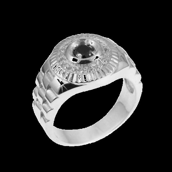 Серебряное кольцо  112ч