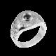 Серебряное кольцо  112ч(т)