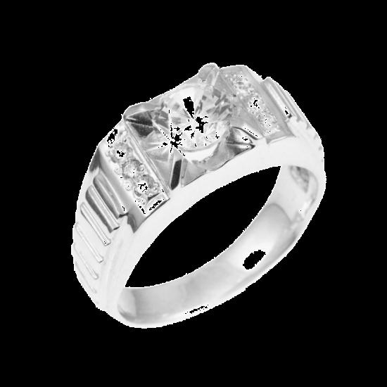 Серебряное кольцо  122р