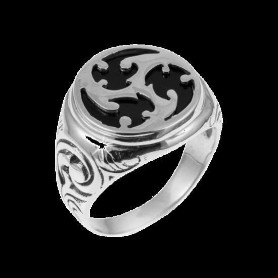 Серебряное кольцо  237ч