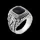 Серебряное кольцо  455ч
