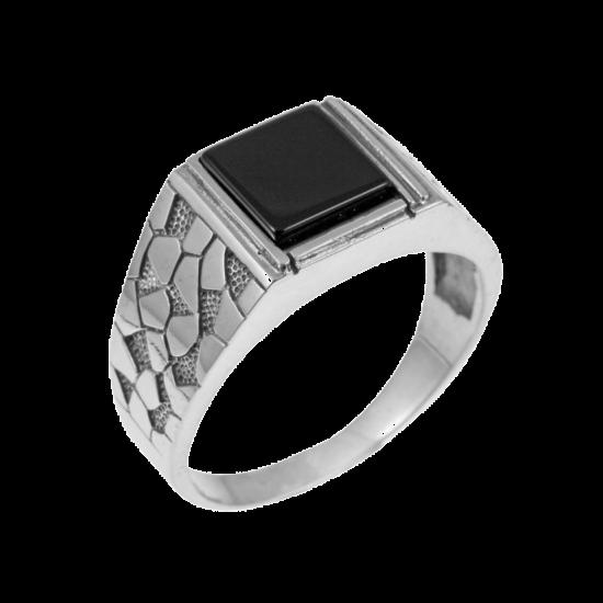 Кольцо серебряное  521