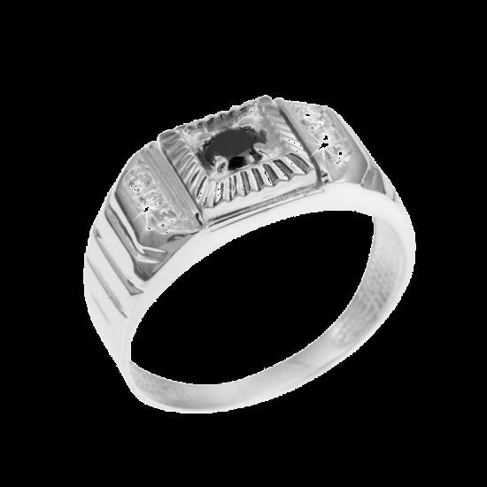 Кольцо серебряное  565