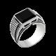 Серебряное кольцо  603ч