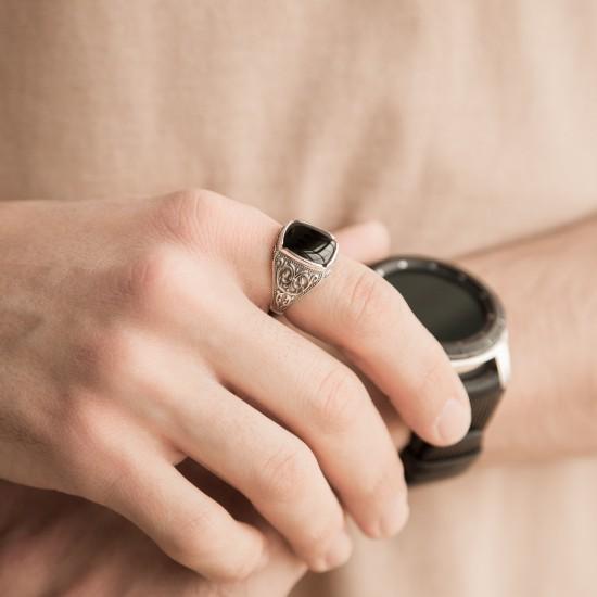 Серебряное кольцо  612