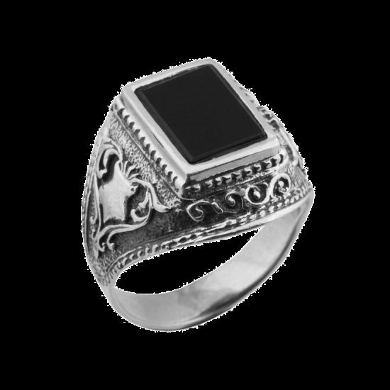 Серебряное кольцо 613ч