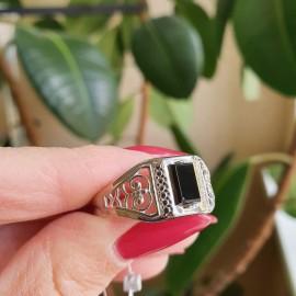 Мужское серебряное кольцо перстень Легенда