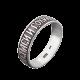Серебряное кольцо Спаси и Сохрани ВС-009ч