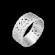 Серебряное кольцо кружево ВС-042р