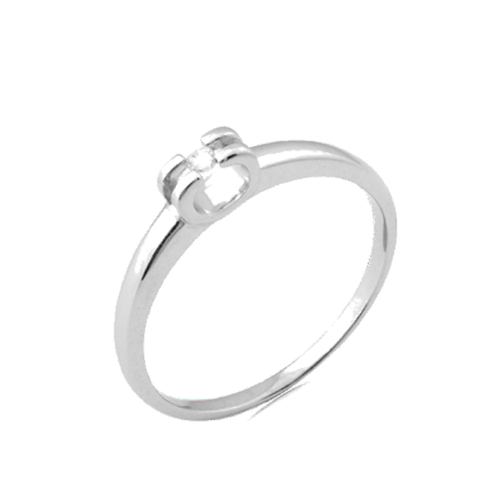 Серебряное кольцо СД-010