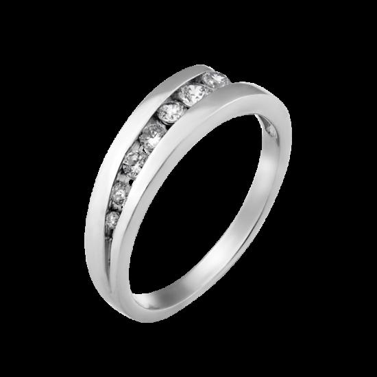 Серебряное кольцо  Л-006