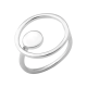 Серебряное кольцо Солнечная Система без камней Л-032р