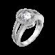 Серебряное кольцо  ЛК-0001р