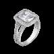 Серебряное кольцо ЛК-0003р