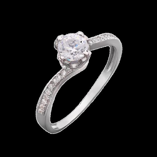 Кольцо серебряное ЛК-0005