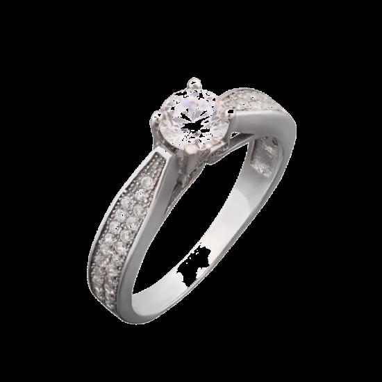 Серебряное кольцо  ЛК-0016